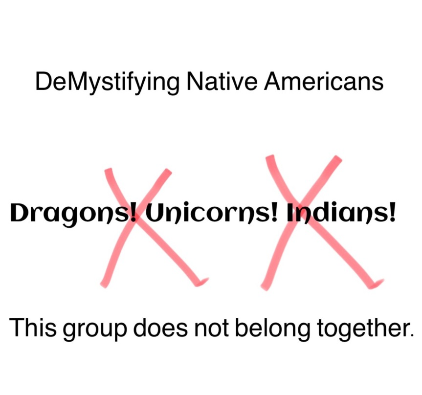 DeMystifying the Native Americans